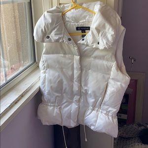 INC vanilla vest